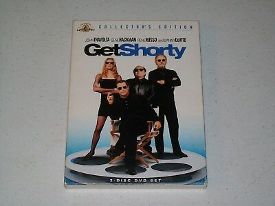 GET SHORTY DVD / COLLECTOR'S EDITION / 2 DISK SET