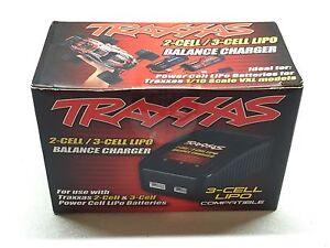 TRAXXAS 2/3 Cell Lipo Balance Charger New Never Used