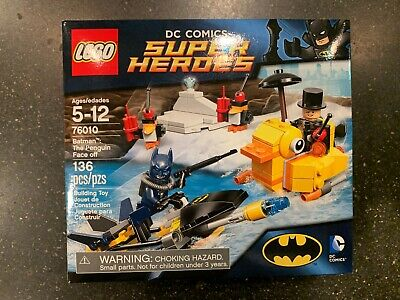 Lego DC Super Heroes Set 76010 Batman The Penguin Face Off NEW - FREE Shipping