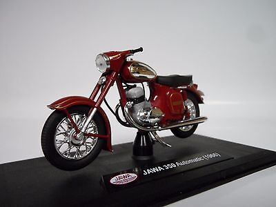 Abrex JAWA 350 Kývačka Dark Cherry Red 1:18 118M002