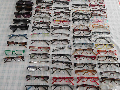 Lot 65+ Assorted Style Strength Reading Glasses Sunglasses Foster Grant Colorful