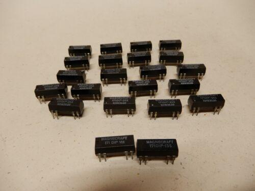 Magnecraft DIN PCB Mount Relays 171DIP-262 (20) Plus More