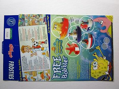 kelloggs Bobbler plastic boat offer, kellogs original cereal box, 2005. for sale  Shipping to South Africa