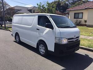 Toyota Hiace LWB 2011 Manual, Turbo Diesel, Only 60,333 kms!!! Lidcombe Auburn Area Preview