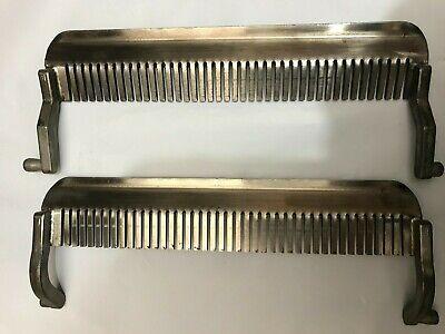 Hobart Tenderizer Stripper Combs Front Back For Models 400 401 403