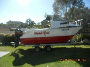 DAMAGED  1995 MARLIN BROADBILL 5.5    (18 FT) Morisset Lake Macquarie Area Preview