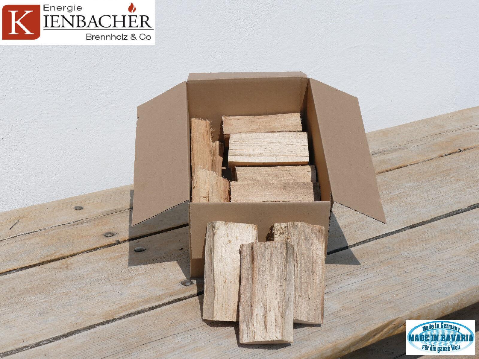 "5Kg Wood Chunks Buche 15cm BBQ ""Bavarian Smoke Wood"" zum smoken räuchern grillen"