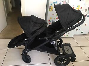 City Select Baby Jogger double Pram + Glider Board East Maitland Maitland Area Preview