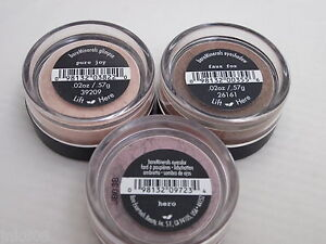 BARE ESCENTUALS * bareMinerals Eyecolor Trio * Lot of 3 Pure Joy Faux Fox Hero