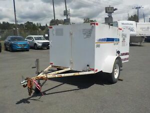 2004 utility Trailer with 2 Gas Generators and 2 Water Pumps & F