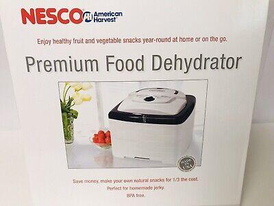 NESCO American Harvest Premium Food Dehydrator Square Fruit/Veggie/Jerky FD-80B3 American Harvest Square Dehydrator