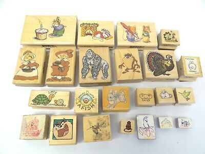 Warner Bros West Water Enterprises Rubber Stampede Siks Animal Stamps Mounted