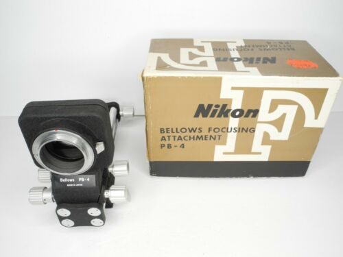 Nikon Bellows Focusing Attachment PB-4 w/ Box