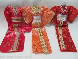 UNIQUE-JAPANESE-STYLE-BARBIE-DOLL-GEISHA-OUTFIT-DRESS