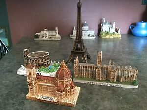 Miniature Landmark Buildings made in Europe