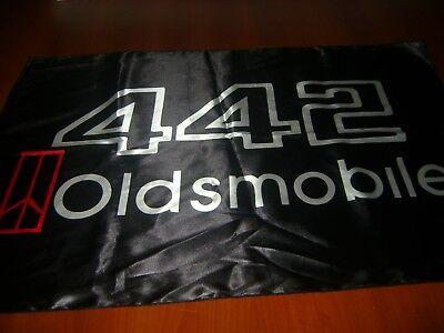 Muscle Car Decor (Oldsmobile 442 Logo 39x27