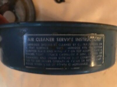 Vintage Ford Lgt -125 Tractor -air Cleaner Housing Assembly
