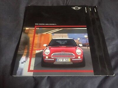 2003 BMW Mini Cooper S USA Market  Brochure Catalog Prospekt