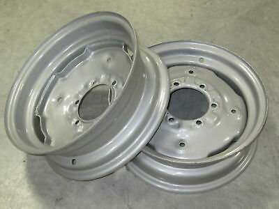 2 Wheel Rims 5.5x16 For Ih International 374 384 444 474 475 484 485 574 584 585