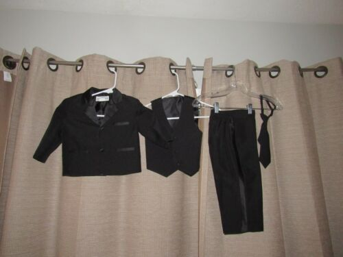 NWOT New Peanut Butter Collection 4 Piece Black Toddler
