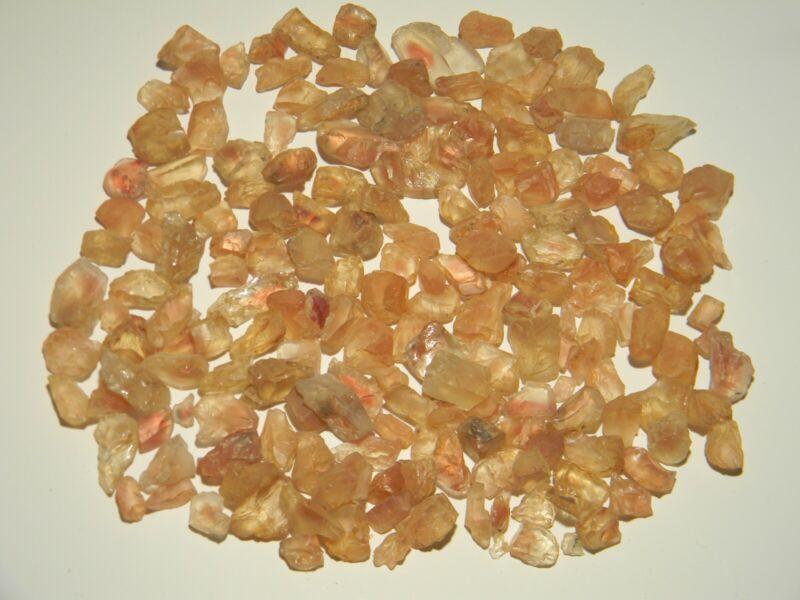Sunstone Oregon Facet Rough Old Collection Reds 200gms.