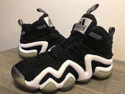 Adidas Kobe Crazy 8 Black & white shoes Kobe Bryant Size 5.5 Used
