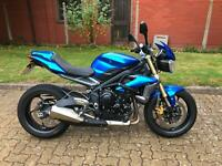 Triumph Street Triple by Fast Lane Motorcycles, Tonbridge, Kent