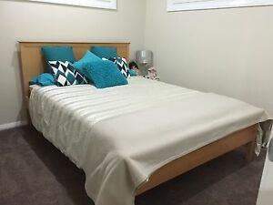 Queen size Bed with Matching 4 Draw Tallboy Spring Farm Camden Area Preview