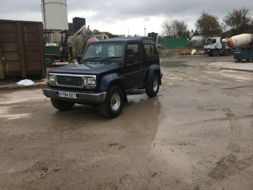 Image of Daihatsu Fourtrak  Independent TDX 2.8 Diesel 90k Miles F78 Full service history