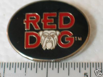 Red Dog Beer Enamel Pin