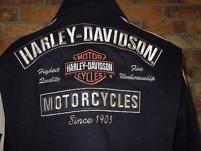 Harley Davidson Cotton Jacket - size Large - Men's