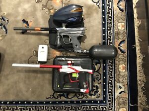 Paintball set up dye dm 13 and lv1