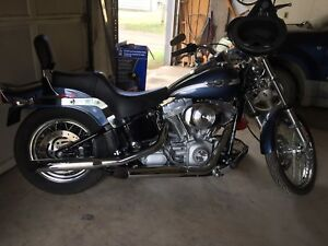 """REDUCED"" - 2003 Harley Softail FXST (3000 km)"
