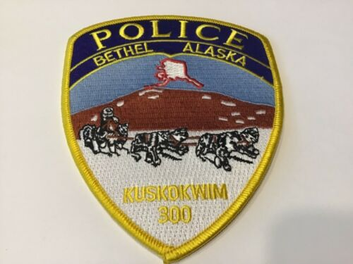 BETHEL POLICE PATCH