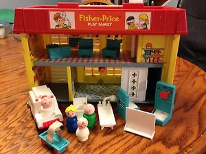 Vintage fisher price hospital