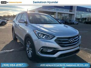 2017 Hyundai Santa Fe Sport 2.0T Limited Panoramic sunroof -...