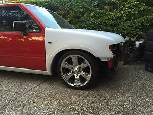 18x8 6 stud mag wheels and tyres Birkdale Redland Area Preview