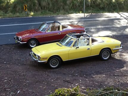 Wanted Triumph Stag Padstow Heights Bankstown Area Preview