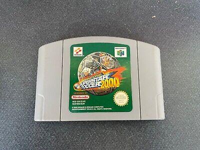 International Superstar Soccer 2000 (Nintendo 64 N64 1999) Solo cartucho