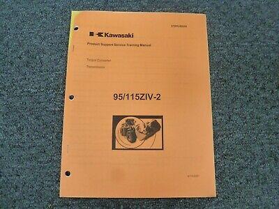 Kawasaki 95ziv-2 115ziv-2 Wheel Loader Transmission Shop Service Repair Manual