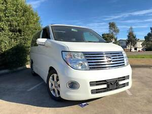 2007 Nissan Elgrand E51 Highway Star Dual Sunroof 8 Seater Wagon Thomastown Whittlesea Area Preview