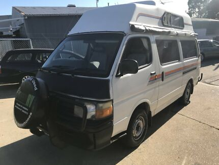 1991 Toyota Hiace manual campervan.