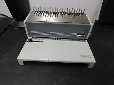 Ibico Ibimatic 4d-71860 Comb Binding Machine Heavy Duty