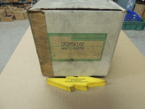 GE MAGNETIC CONTACTOR, CR305K102, NIB