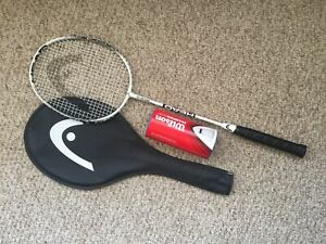 Head TI Reflex 100 Badminton Racquet with 3 Birdies