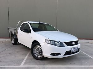 2010 Ford Falcon FG Cab Chassis LPG White Tray Automatic Campbellfield Hume Area Preview