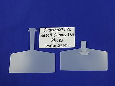 Label Ticket Holders Tag 3-38w X 1-38h Wire Rack Basket Plastic