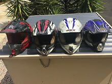 Motor cross helmets (used) various sizes good condition from $20 Maraylya The Hills District Preview