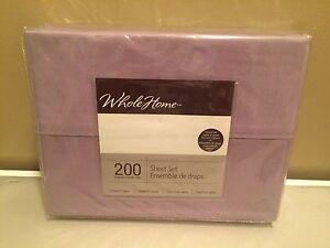 Purple TWIN Sheet Set Strathcona County Edmonton Area image 1