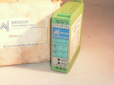 Mescon Technologies Isotec-2 Loop Current Loop Isolator 2-wire